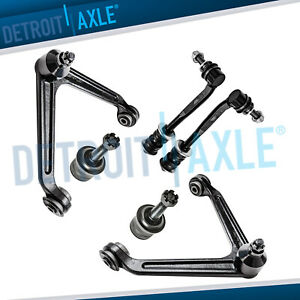 New 6pc Front Suspension Kit Dodge Durango Chrysler Aspen 5 Lug Wheel Models