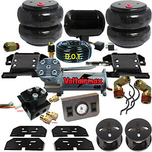 Chassistech Tow Kit 25 3500 Ram 03 11 Compressor And Electric Valve 2 Lift