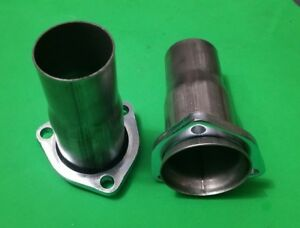 2 5 Ball Header To 2 25 409 Stainless 3 Bolt Header Collector Socket Reducers