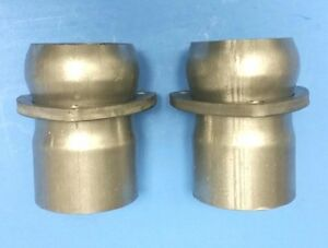 2 50 Id To 2 50 409 Stainless 3 Bolt Ball Side Only Exhaust Header Collector