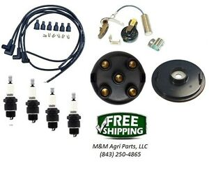 Ignition Tune Up Kit Ih Farmall 140 200 230 240 300 330 340 400 450 Tractor