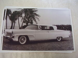 1958 Lincoln Continental 2 Door Hardtop 11 X 17 Photo Picture