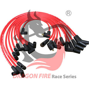 Hei Spark Plug Wire Set for 1979 1991 Ford Sbf 221 260 289 302 351w 45 To 90