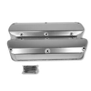 Fabricated Aluminum Valve Covers For Sbf Ford 5 0l Mustang 289 302 351w