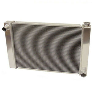 New Fabricated Aluminum Radiator 30 X 19 X3 Overall For Sbc Bbc Chevy Gm