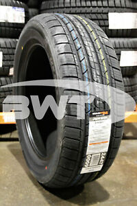 2 New Milestar Ms932 98v 50k Mile Tires 2155517 215 55 17 21555r17