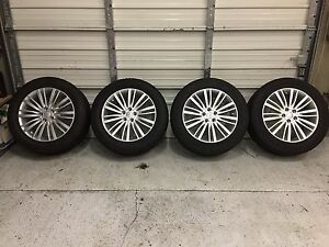 2017 Genuine Oem Land Rover Discovery 20 New Wheels Rims Tires Brand New 1011