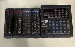 Direct Logic 305 Plc 5 Slots With Programmer