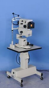 Topcon Trc 50ft Retinal Camera W Power Supply Polaroid Attachment