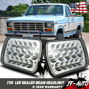 1978 1986 Ford F150 H6054 Led Sealed Beam Headlight Replace Hid Gmc C2500
