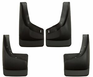 4pcs Splash Mud Guards Flaps For Suburban 1500 2500 Gmc Sierra Yukon Xl 99 07