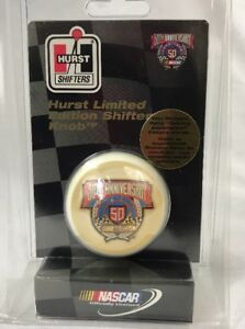Hurst 163 5050 Nascar 1948 1998 50th Anniversary Limited Edition Shifter Knob