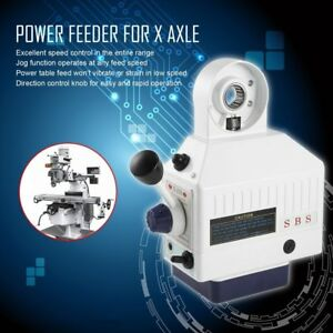 Best Price Sbs 110v Power Feed For Vertical Milling Machine X Axis Ln