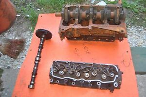 1985 Pontiac Fiero Iron Duke Block Heads And Camshaft W Other Optional Parts