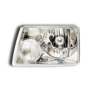 Fits 2001 2009 Ford Ranger Driver Left Side Headlight Lamp Assembly Lh
