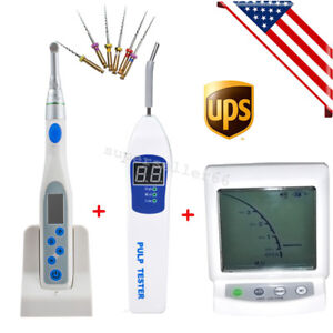 Us Dental Cordless Endo Motor 16 1 Handpiece Apex Locator Root Canal Pulp Tester