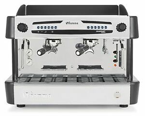 new Fiamma Quadrant Commercial 2 Group Espresso Cappuccino Machine