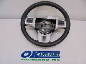 2012 Charger Black Steering Wheel With Buttons