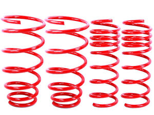Red Lowering Springs Fit Bmw 92 98 E36 3 Series 318i 325i 328i 2dr 4dr