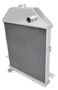1941 Ford Pickup Truck Ford Configuration Aluminum 3 Row Champion Radiator 41fd