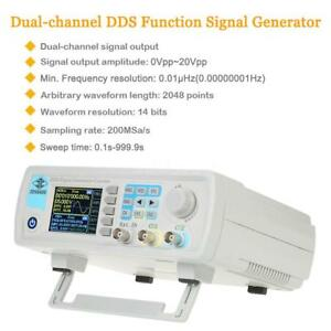 Digital Dual channel Dds Function Signal Generator Frequency Meter S4j6