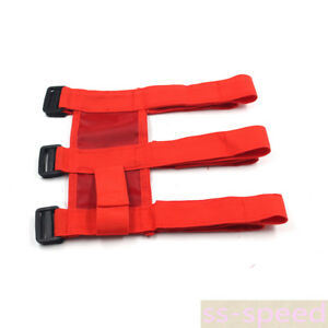 High Quality For Jeep Wrangler Jk Red Roll Bar Fire Extinguisher Holder