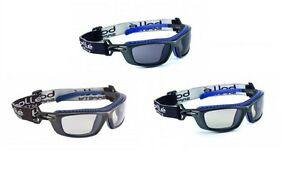 Bolle Baxter Safety Glasses Goggles Anti Mist Scratch Various Lens 2 5 Or 10