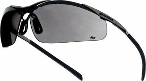 Bolle Contour Metal Contmpsf Safety Glasses Smoke 2 5 Or 10 Pairs