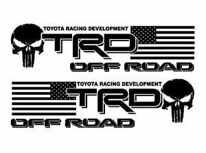 Trd Usa Punisher Off Road Edition Decal Vinyl Decal Outdoor Vinyl