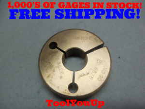 7 8 48 Ns 2 Thread Ring Gage 875 No Go Only P d 8575 Tooling Inspection