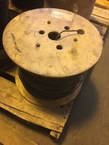 10awg 7str 1 c Black Insulated Copper Wire Cable 2500 Ft Roll