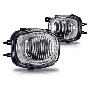 Clear Fog Light Replacements Fit For 2000 2001 2002 Mitsubishi Eclipse