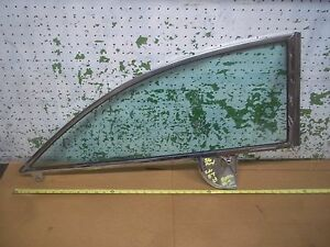 1956 Mercury 2 Door Ht Left Quarter Tint Glass Window Bv 6429945 a Ford 1955 F