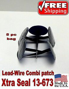 Xtra Seal Lead Wire 5 Pc Medium Combination Tire Plug Patch Repair 31 Inc 13 673