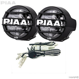 Piaa 05372 Lp530 White Led Driving Light Kit 3 5 6000k Harness Sae Compliant