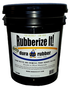 Dura rubber Liquid Rubber 5 Gallon White Now Available In Over 100 Colors
