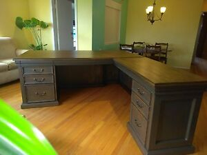 Desk Custom Lawyers Or Executive Office Desk Very Big And Very Heavy Duty L