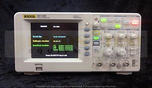 Rigol Ds1102e Digital Oscilloscope 2 Channel 100 Mhz 1 Gs s