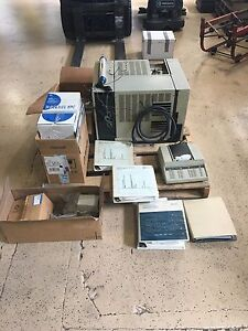 Hp 5890 Gas Chromatograph With 5970 Series Mass Selective Detector