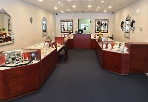 Beautiful Display Cases In Excellent Condition Previously Used For Jewelry