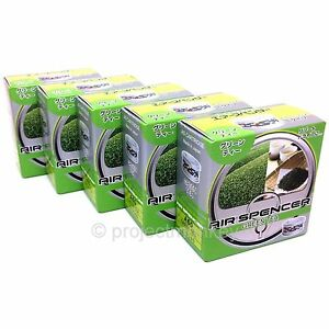 Air Spencer As Air Freshener Green Tea X 5 Automotive Car Fragrance Scent Jdm