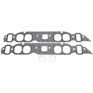 Edelbrock 7203 Intake Gaskets 1 82 X2 05 For 1965 90 B B Chevy Mark Iv 396 454