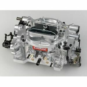 Edelbrock 1812 Thunder Series Avs Carburetor 800 Cfm Manual Choke Satin Finished