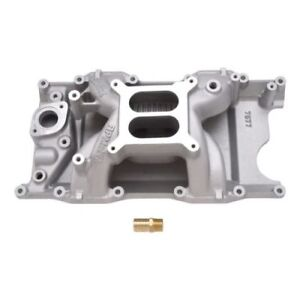 Edelbrock 7577 Rpm Air gap Intake Manifold For Late Chrysler Magnum V8 5 2 5 9l