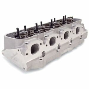 Edelbrock 77479 Victor Jr Rectangular Port 118cc Cylinder Head For B B Chevy