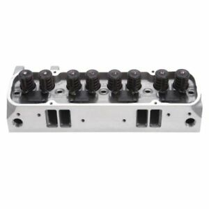 Edelbrock 61515 Performer Rpm Cnc 72cc Cylinder Head For Pontiac 62 79 389 455