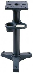 Pedestal Stand Jet Bench Grinders Heavy Duty Cast Iron Grind Workstation Mount