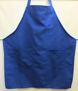 30 60 120 Kitchen Restaurant Commercial Cheap Apron 3 Pockets Wholesale Lot Bulk