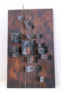 Mid Century Modern Vintage Wall Hanging Sculpture Raymor Eames