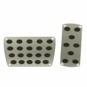 Racing Pedals Car Universal Automatic Transmission Metal Clutch Pedal Pad Set
